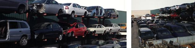 desguace de camiones y piezas de coches en madrid
